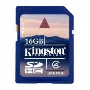 Kingston - SD4/16GB - 16 GB - SDHC - Clasa memorie Clasa 4