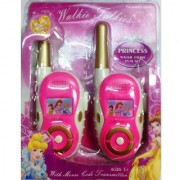 Battery Operated Princess Walkie Talkie play set for kids
