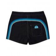 Sundek Rainbow Mid Length Swim Shorts Black