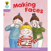 Oxford Reading Tree Level 1+: More Patterned Stories: Making Faces by Roderick Hunt