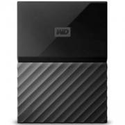 Външен диск HDD 2TB USB 3.0 MyPassport, 3 години гаранция, Черен, WDBYFT0020BBK