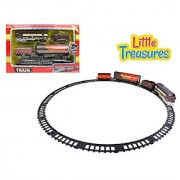 Choo Choo hear the Train run don the track going to deliver some cargo - great steam train play set for childrens gifts