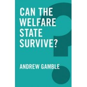 Can the Welfare State Survive? by Professor and Department Head of Politics Andrew Gamble