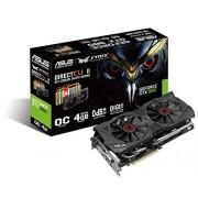 Asus Scheda Grafica Strix GTX980 (STRIX-GTX980-DC2OC-4GD5), 4GB GDDR5, Nero