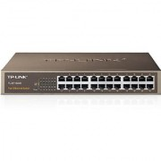 TP-LINK TL-SF1024D 24-Port Switch Rackmount - 4.8Gbps Capacity- Black
