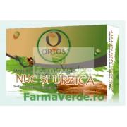 Sapun cu Extract de Nuc si Urzica 100 g Ortos Prod