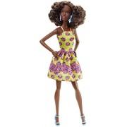 Barbie DGY65 - Fashionistas 2016, Abito Giallo/Viola