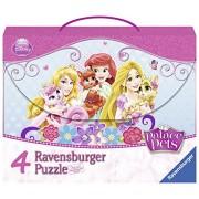 Palace Pets - 4 puzzles en maleta (Ravensburger 07351 1)