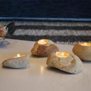 Suport Lumanari Handmade - Sandstone Mandras