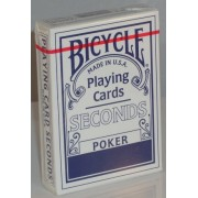 Bicycle Deck (808) Poker Seconds Blue