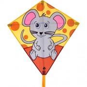 Invento 100121 - Eddy Mouse aquilone per bambini Aquilone, dai 5 anni, 68 x 68 cm e 2 m drago coda ripstop-poliestere 2 - 5 Beaufort