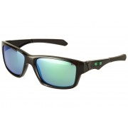 Oakley Jupiter Squared polished black/jade iridium Sonnenbrillen