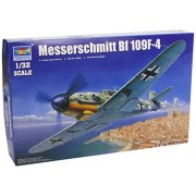 Trumpeter 05776 - Caccia tedesco Messerschmitt BF/ME 109 F-4