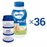 Mellin Latte proseguimento liquido - 1 Kit Convenienza Latte Mellin 2 Liquido 0,5 L e 1 Portalatte - 1 Kit Convenienza Latte Mellin 2 Liquido 0,5 L e 1 Portalatte