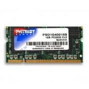 PATRIOT-PATRIOT - PSD1G40016S - DDR 1 GO KIT PC-3200 400MHZ NON-ECC - UNBUFFERED - 184 BROCHES SODIMM-