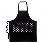 Apron -Black Polka Dot Pocket by Annabel Trends