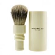 Turnback Traveler Badger Hair Shave Brush - # Ivory 1pc Търнбек Супер Четка с Косми от Язовец за Пътуване - # Слонова Кост