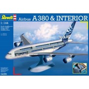 Airbus A380 Visible Interior-Revell