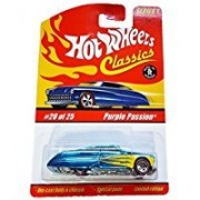 Hot Wheels Purple Passion Classics Series 1 Red Line Blue With Yellow Flames #20 Limited Edition Scale 1/64 Collector by Hot Wheels