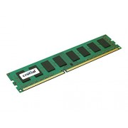 Crucial Simm Memoria RAM, DDR3, PC1600, 2GB, CL11, Nero