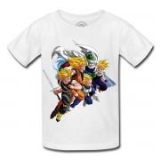 T-Shirt Enfant Dragon Ball Z Trunk Sangoku Vegeta Piccolo San Gohan Film Anime Manga