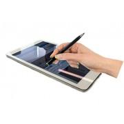 2 in 1 Black Stylus Ball Point Twist Touchscreen Pen