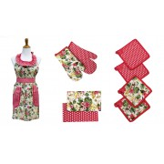 9 Piece Apron Set (Hawaiian Tropics)