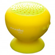 Boxa portabila ABC Tech 134608 Waterproof Yellow