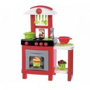 Set Ecoiffier Bucatarie Pro Cook cu 15 accesorii