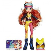 My Little Pony Equestria Girls Sunset Shimmer Sporty Style Motocross Doll