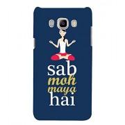 YuBingo Samsung Galaxy J7 (6) 2016 :: Samsung Galaxy J7 2016 Duos :: Samsung Galaxy J7 2016 J710F J710Fn J710M J710H Designer Phone Back Case Cover ( Sab Moh Maya Hai )