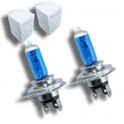 2x Ampoules H4 Effet Xenon - Super White 5000K