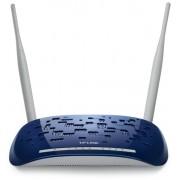 ROUTER TP-LINK; model: W8960N; MANAGEMENT; WIRELESS; PORTURI: 4 x RJ-45 10/100
