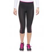 Skins A200 Capri Tights Women black/pink L Laufhosen