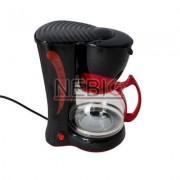 Filtru de cafea Victronic, 800 W, 10-12 Cesti, Negru