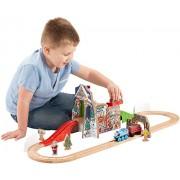 Fisher-Price Thomas the Train Wooden Railway Santa s Workshop Express