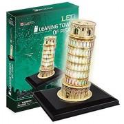 CubicFun L502H Led Leaning Towers of Pisa Puzzle