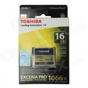 Toshiba EXCERIA PRO Professional CompactFlash carte CF - noir (16GB / 1066 X)
