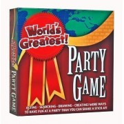 World's Greatest Party Game, Drawing Game,Charades Game,Scavenger Hunt , All three games are huge fun for the family, ages 13 and up