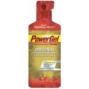 PowerBar PowerGel Original Sportvoeding Tropical Fruit flavour rood/goud Energie gels