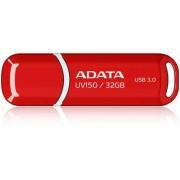 Stick USB A-DATA UV150 32GB, USB 3.0 (Rosu)