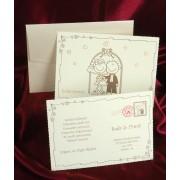 invitatii nunta cod 2494