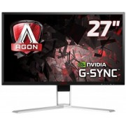"Monitor Gaming IPS LED AOC 27"" AG271QG, WQHD (2560 x 1440), HDMI, DisplayPort, 4 ms, 165 Hz, Boxe, Pivot, G-Sync (Negru)"