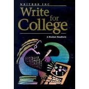 Write for College by Patrick Sebranek