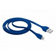 URBAN REVOLT Cable Plano USB 2.0 a LIGHTNING 1m Azul - Cable USB