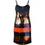 Sonia Rykiel полосатое платье с пайетками Sonia By Sonia Rykiel