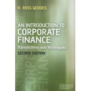 An Introduction to Corporate Finance by Ross Geddes