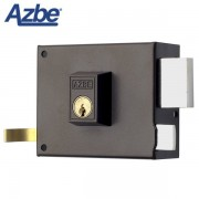Cerradura de sobreponer AZBE 125 Europeo, 120 mm, Derecha