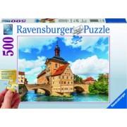 PUZZLE BAMBERG BAVARIA 500 PIESE Ravensburger
