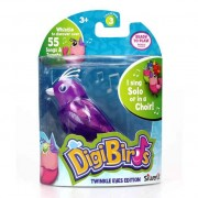 Pasare interactiva DigiBirds cu LED Figaro